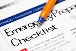 Emergency Checklist Image